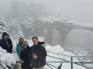 Zimní výlet na Pravčickou bránu