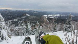 wycieczka:  rakietach śnieżnych