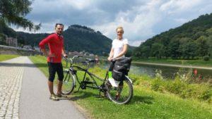 Pořád dolů: Krásna Lípa – Pirna – Drážďany -  Míšeň