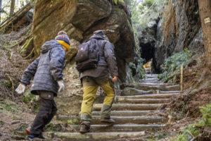 Výlet za Úzkými schody